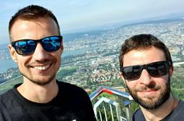 Stefan und Lukas